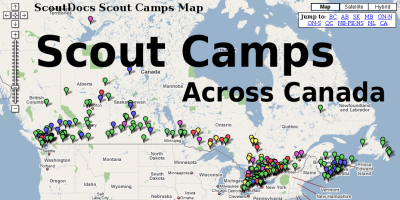 Scout Camps Across Canada