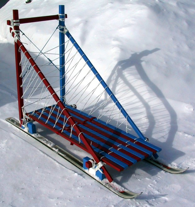 Picture of the Klondike sled